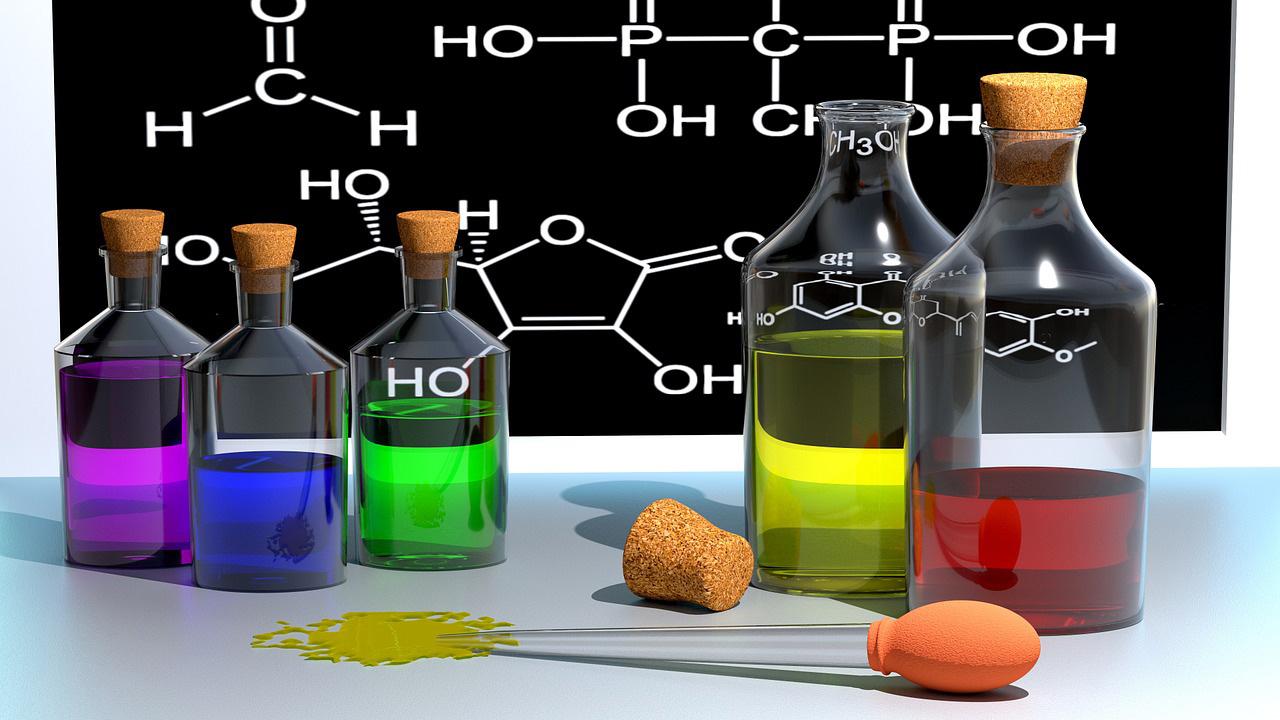 مواد شیمیایی مرک آلمان در صنعت